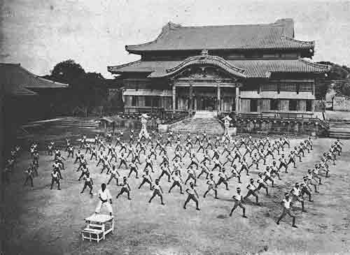 karate al castello di shuri